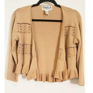 🍁NWOT Joseph A Qu'est  Sweater
